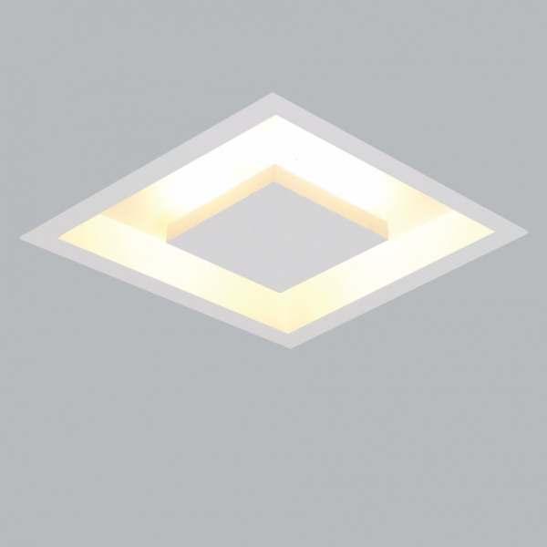 Luminária Usina Design Embutir Quadrado Home MD.50X50 4XE27 250/5E BT