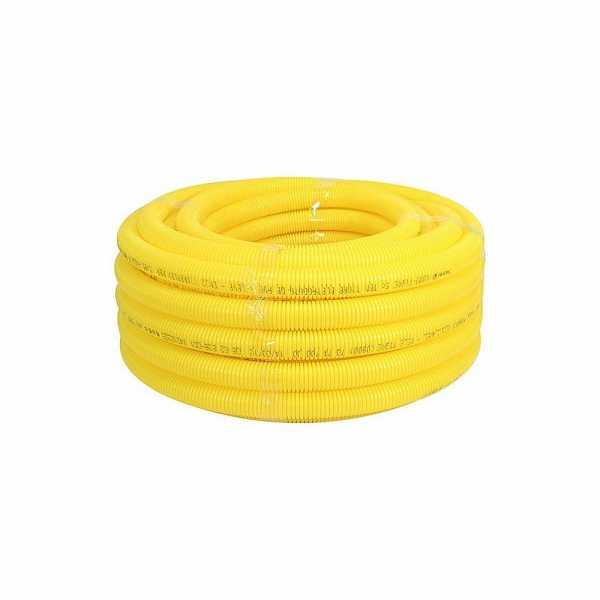 Mangueira Corrugada 1 32MM Amarela Amanco