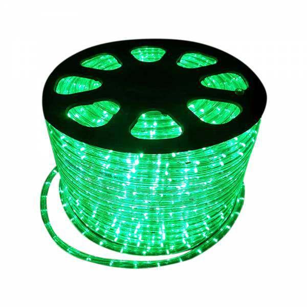 Mangueira luminosa Led Remanci Verde 127 V p/ metro