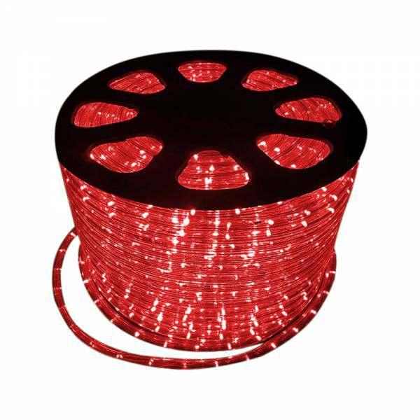 Mangueira luminosa Led Remanci Vermelha 220 V p/ metro