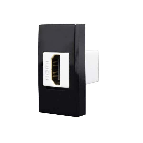 Módulo HDMI Alumbra Inova Pro Class Black Piano 85518