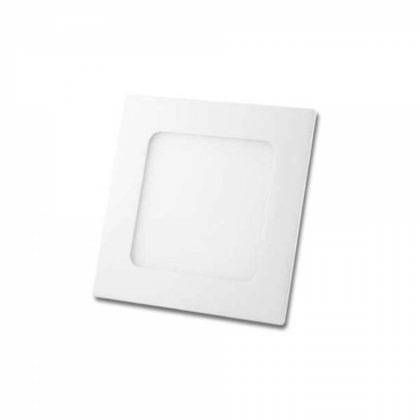Painel Led Quadrado Embutir 6W 12X12 2700K Bivolt Foco