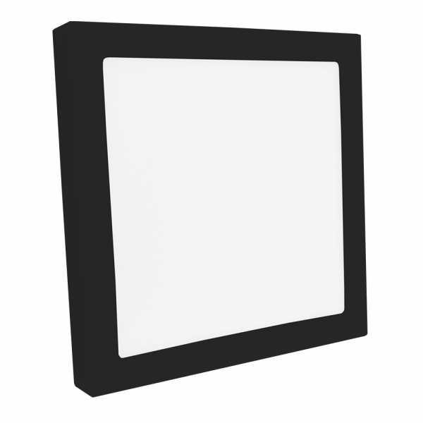 Painel LED Save Energy Quadrado 20W Sob. 4000K Preto