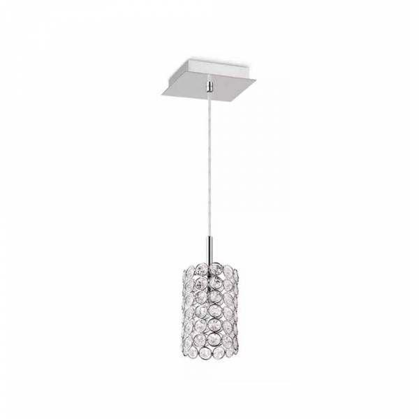 Pendente Palácio Design 1 lâmpada G9 40W tubo G41701P Gabbia