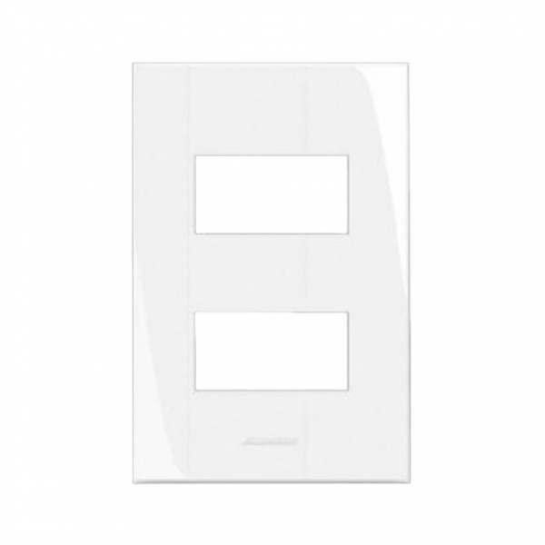 Placa 4X2 Alumbra Inova Pro 2 Modulo Distanciado   85001