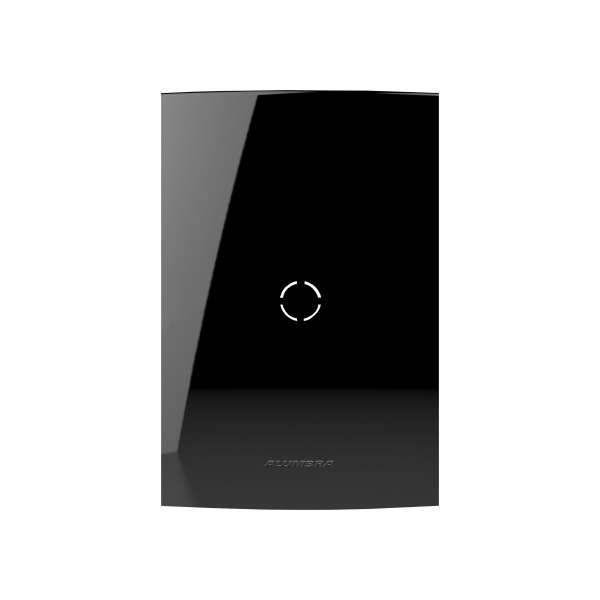 Placa 4X2 Alumbra Inova Pro Class Cega Black Piano 85529