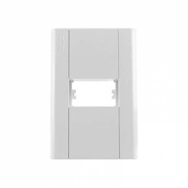 Placa 4X2 Fame Modulare para 1 Módulo 031