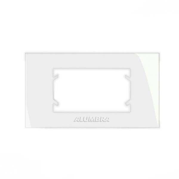 Placa para Móvel Alumbra Inova Pro 1 Módulo 85075