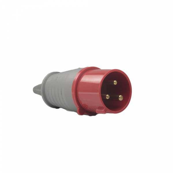 Plug Soprano 2P+T 32A 380V Vermelha 9H 3279