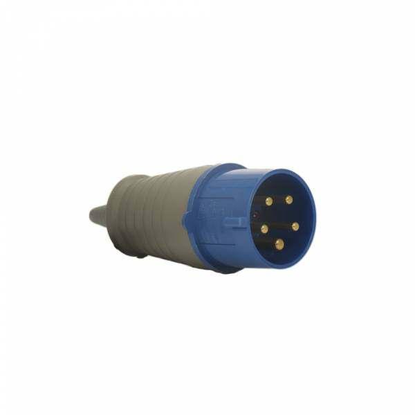 Plug Soprano 3P+T+N 32A 220V Azul 9H 5279
