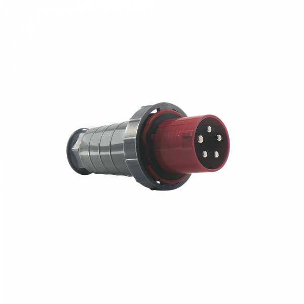 Plug Soprano 3P+T 63A 380V Vermelha 6H 4576