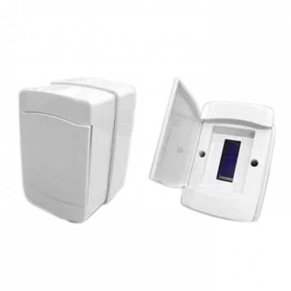 Quadro Ilumi Pvc p/ 2Din Porta Branca  620650