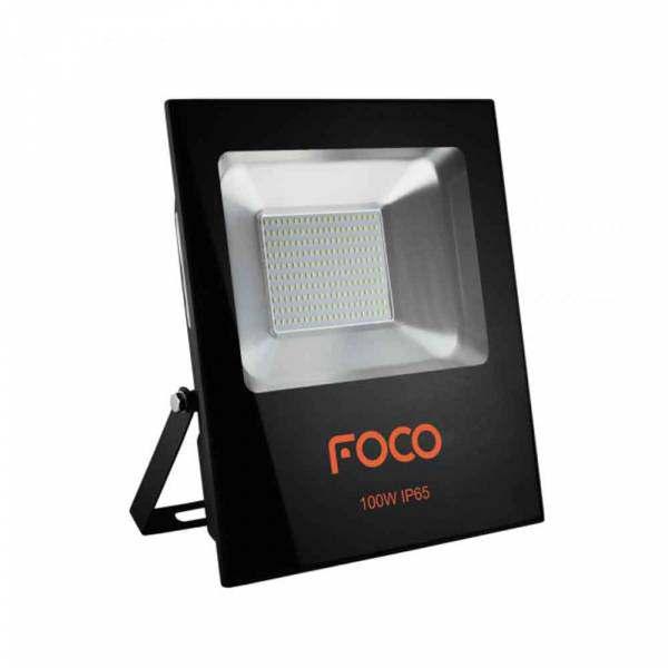 Refletor Led Foco 100W 6500K Bivolt