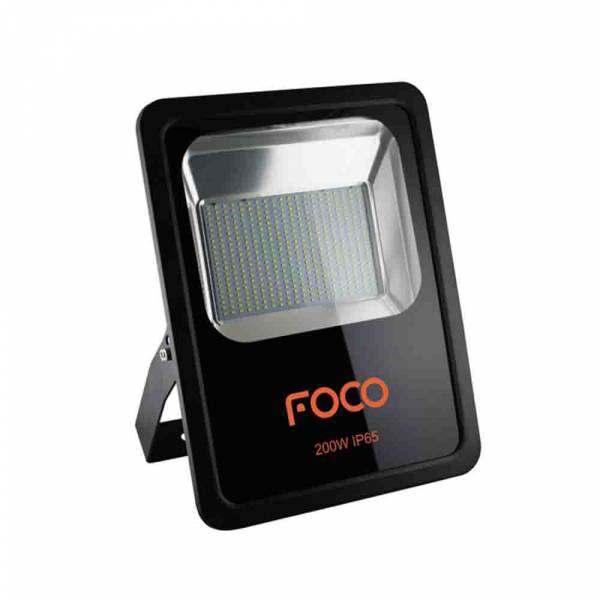 Refletor Led Foco 200W 6500K Bivolt