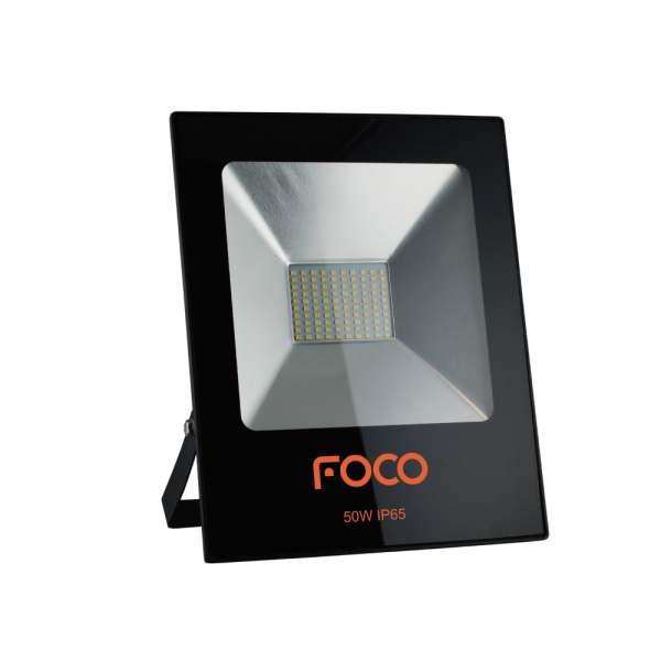 Refletor Led Foco 50W 3000K Bivolt