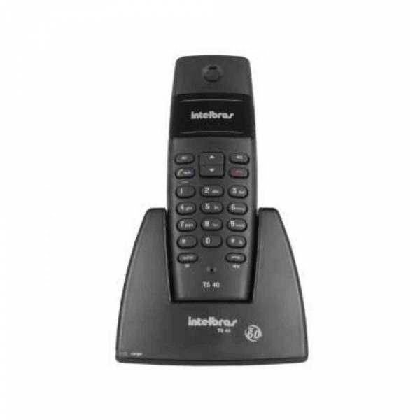 Telefone Intelbras sem Fio TS40 sem Identificador 4070355