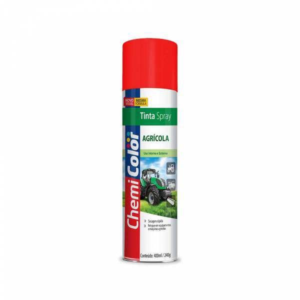 Tinta spray Chemicolor Agrícola Vermelho 400ML